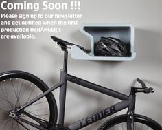 Juergen Beneke is raising funds for SHELFIE - home is where you hang your bike. Shelfie is a contemporary design that will look perfect inside your home, with or without a bike. Indoor Bike Rack, Indoor Bike Storage, Pimp Your Bike, Bike Wall Mount, Bike Storage Solutions, Range Velo, Bike Hanger, Bike Shelf, Bicycle Storage