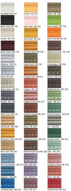 Metallic Paint Collection: Contains Real Metal Particles, Pearlescent Pigments and Traditional Pigments Covers Approximately 320-400 sqft/gallon