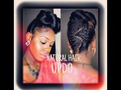 11. Pinup Hair Style Tutorial - YouTube