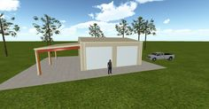 Cool 3D #marketing http://ift.tt/2sYFq6c #barn #workshop #greenhouse #garage #roofing #DIY