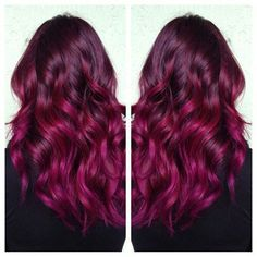 Deep red/purple combination