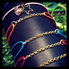Photo by artesacreations  bracelets fantaisie - bijoux tendance www.artesa-creations.com