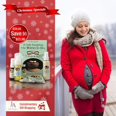 "Save more than on Earth Mama ""A little something for mama to be"" gift set. Christmas 2015, Merry Christmas, Christmas Gifts, Earth Mama, Canada Goose Jackets, Pregnancy, Winter Jackets, Gift Wrapping, Seasons"