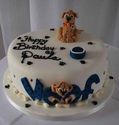 Pictures Of Birthday Cake Ideas Dog Themed  cakepins.com