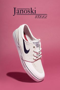 The Stefan Janoski is a signature Nike S.B. style. This time it's understated and minimal.