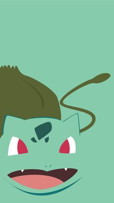 minimalistic pokemon go bulbasaur wallpaper mobile