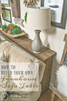 30 diy sofaconsole table tutorial furniture diy revamps one more problem solved in my family room how to build a farmhouse sofa table watchthetrailerfo