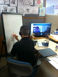 Former Disney Animator instructing Virtual at Elite Animation Academy, we can instruct students from all over the world !