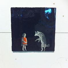 """@simone en voiture Akkermans blogs  """"Story Tiles by Marga van Oers. Love them!"""""""