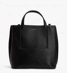 FLEURY - BLACK - satchels - handbags