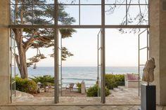 Residence at Broad Beach, North of Malibu. Design Richard Shapiro