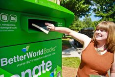 "Better World Books Takes A Page From Toms Shoes' ""One For One"" Playbook - drop boxes across the country!"