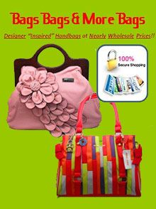 Special Offer from Bags Bags & More Bags: Get 20% Off your order + $4.99 shipping on orders of $35 or more