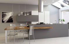 Modern Kitchen Interiors, Modern Kitchen Design, Kitchen Stories, Scandinavian Kitchen, Kitchen Living, Interior Design Inspiration, Sweet Home, New Homes, House Design