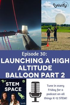 As a follow-up from Episode 27, learn about Claire's recent experience launching a high-altitude balloon with her 5th and 6th graders. This project incorporates math, science, engineering, and technology (STEM) in an incredible experience that students will remember forever! Listen in to learn more! Math Games For Kids, Fun Math Activities, Middle School Science, Teaching Tips, Math Lessons, Claire, Balloons, Engineering, About Me Blog