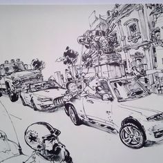 1 day pop-up art show at SOMArts - Live Demo Comic Book Artists, Comic Artist, Comic Books Art, Junggi Kim, Pop Up Art, Kim Jung, A Comics, Figure Drawing, Art Sketches
