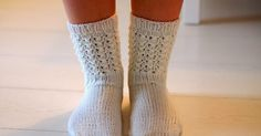 Life with Mari: Aikuisten Lise-Lotet Crochet Stitches, Knit Crochet, Knitting Socks, Knit Socks, Leg Warmers, Life, Crochet Ideas, Amazing, People