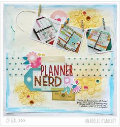 Cute layout created using two collections: Boys Rule and Oh Darling from @cratepaper #papercrafts #scrapbooking