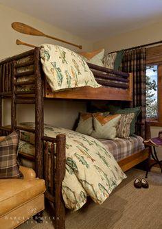 Rustic Cabin Bedroom Design Ideas Fish Theme