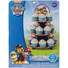 Paw Patrol Cupcake Treat Stand Holds 24 Cupcakes! -- Check this awesome product by going to the link at the image.