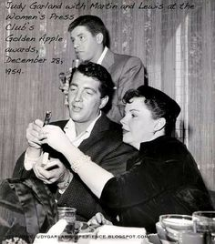 Jerry, Dean and Judy Garland