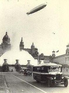 El Tranvía 48: Los primeros autobuses turísticos de Barcelona, años 20.