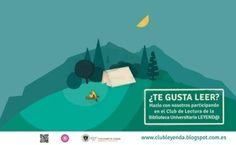 Club de Lectura de la Biblioteca Universitaria: Leyend@  ¿Te gusta leer? ¡Apúntate! #bibliotecaugr #ClubDeLectura #Leyend@