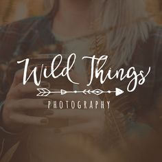 ARROW LOGO DESIGN, BOHO WATERMARK, PHOTOGRAPHY LOGO, CUSTOMISABLE DESIGN, PREDESIGNED LOGO, CUSTOMIZABLE TEXT, PHOTOGRAPHY BUSINESS LOGO