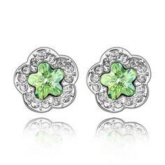 Fashion Blumenförmige Ohrringe mit Blumen