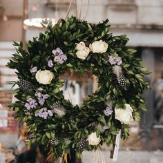 Věnce nejsou jenom na Vánoce!! V #greendecorzizkov najdete jarní dekorace všeho druhu   #greendecorzizkov #jaro #inspirace #dekorace #kvetinypraha #ferovekvetiny #igerscz #iglifecz #vscocze Summer Wreath, Floral Wreath, Wreaths, Spring, Instagram, Home Decor, Floral Crown, Decoration Home, Door Wreaths