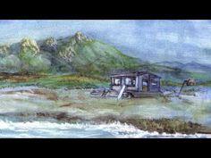 Mes aquarelles de Corse-Watercolors of Corsica - YouTube