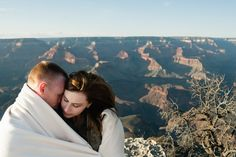 Romantic Grand Canyon Engagement Session at Shoshone Point