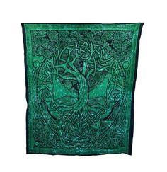 Courtney Davis Green Tree of Life Tapestry/Bedspread Things2Die4 http://www.amazon.com/dp/B00A7VVUT2/ref=cm_sw_r_pi_dp_iSPaub110RKT0