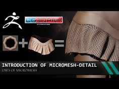 ZBRUSH TUTORIAL-INTRODUCTION OF MICRO MESH IN ZBRUSH (DETAIL) -TOOL TIP - YouTube