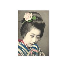 Vintage Fine Art Photographic Prints - Art Deco Posters Prints -... ❤ liked on Polyvore featuring asian and geisha