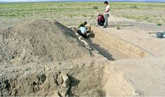 MORIGUCHI, JAPAN—Japanese and Mongolian archaeologists have investigated a structure they say was commissioned for Genghis Khan by a close aide in 1212. The site, located in southwestern Mongolia, was first photographed from the air and surveyed in 2001 because its geographical features were similar to the landscape depicted in a medieval travel book. Surrounded by an earthen wall, the castle may have served as a military base when Genghis Khan was invading central Asia.