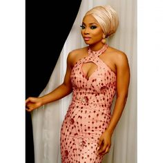 @tokemakinwa slaying a beautiful gown from @tojufoyeh