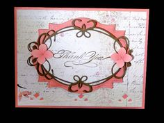 Tiffany Thank you by jasonw1 - Cards and Paper Crafts at Splitcoaststampers