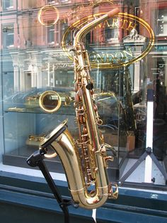 Alto Saxophone - my brother used to play. I miss him.