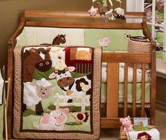 Nojo Farm Babies Nursery Bedding Set Baby Boy Nurseries Cribs