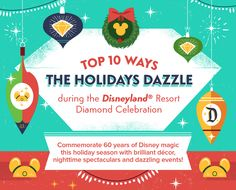 See How the Holidays Dazzle During the Disneyland Resort Diamond Celebration