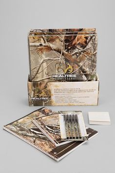 Real Tree Outfitters Stationery Set #urbanoutfitters