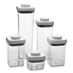 OXO Good Grips 5-Piece Food Storage Pop Container Set