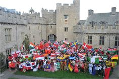 Diversity and cultural curiosity are very important attributes to me - and McCombs.  This picture is of my high school in Wales, the United World College of the Atlantic, where 300 students from 90 countries lived and studied together for two years.  And yes, the school is a 12th century castle!