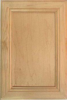 Woodmont Doors wood plywood panel cabinet doors - kitchen cabinet doors - mitered corner plywood panel door for cabinetry