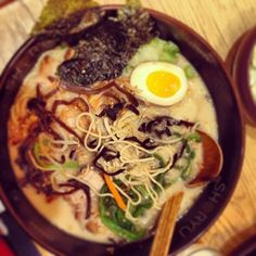 Ra Ra #ramen #shoryuramen #delish #london #regentstreet #japanese #partyinabowl