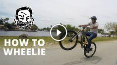 Watch: How to Wheelie a Mountain Bike