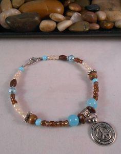 Boho Chic Peace Bracelet - http://elohijewelry.storenvy.com