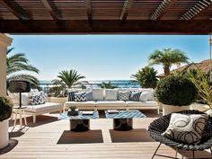 Dom nad Morzem Śródziemnym. Una casa con mucho sol