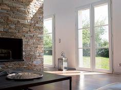 Une Fenêtre PVC Triplement Généreuse Et Tellement Contemporaine - Porte fenetre pvc avec volet roulant